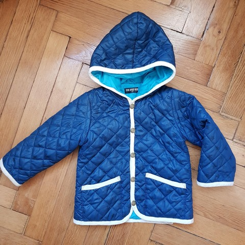 青ジャケット