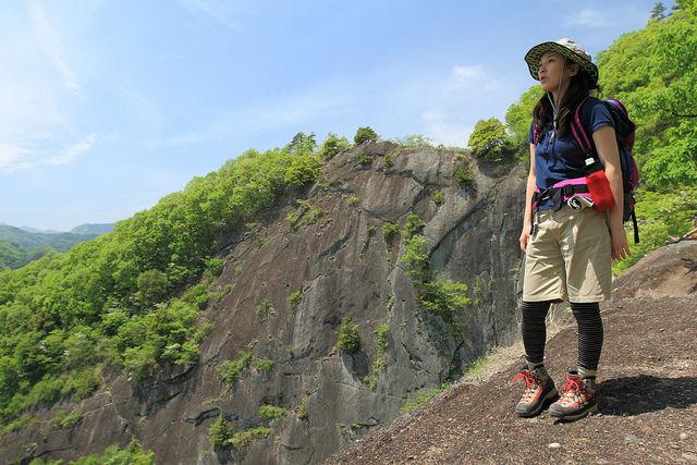 女登山ノート : 断崖絶壁 ...