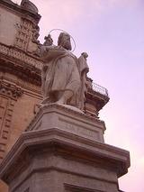 モディカ サンピエトロ教会 彫刻