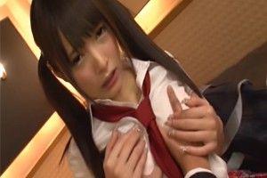 【坂口みほの jk】Tバックの女子校生、坂口みほののバックH無料動画。ミニスカTバックでパンチラするツインテール女子校生【坂口みほの】