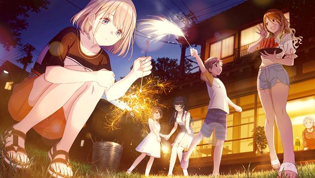 SR【花火の夜に……】芹沢あさひ1 シャニマスの高画質の画像