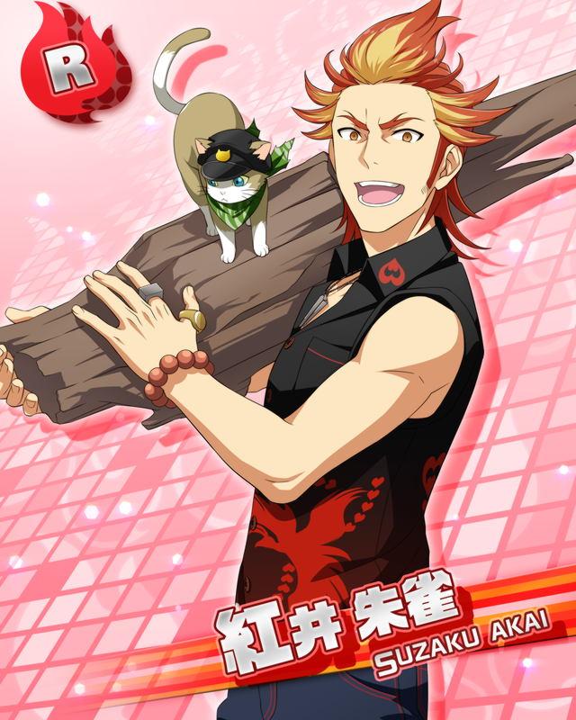 【SURVIVE!】紅井 朱雀