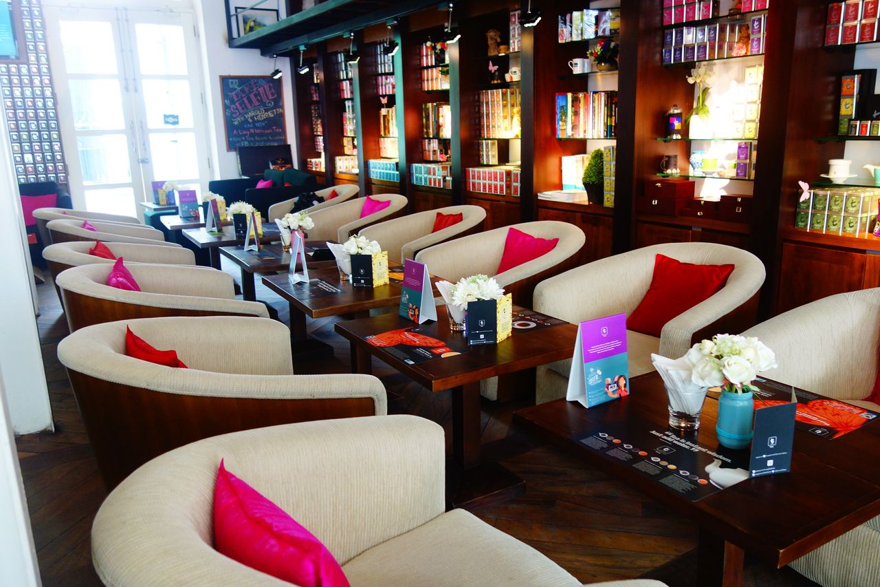 The t -Lounge by Dilmah店内