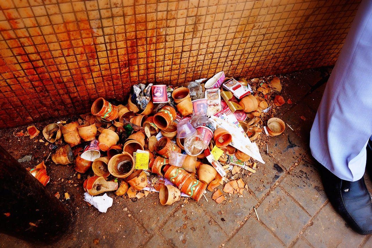 チャイのゴミ箱