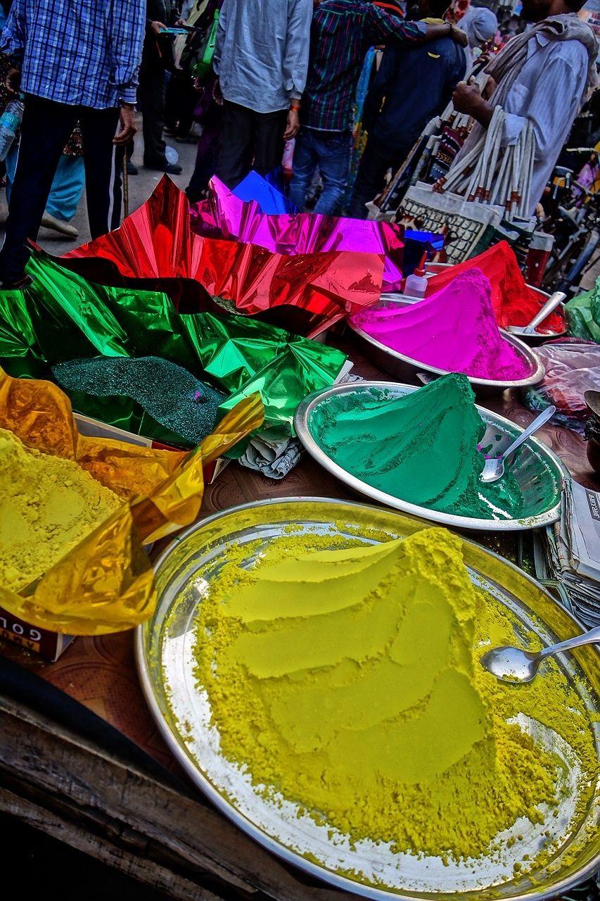 ホーリー祭(バラナシ)カラーパウダー