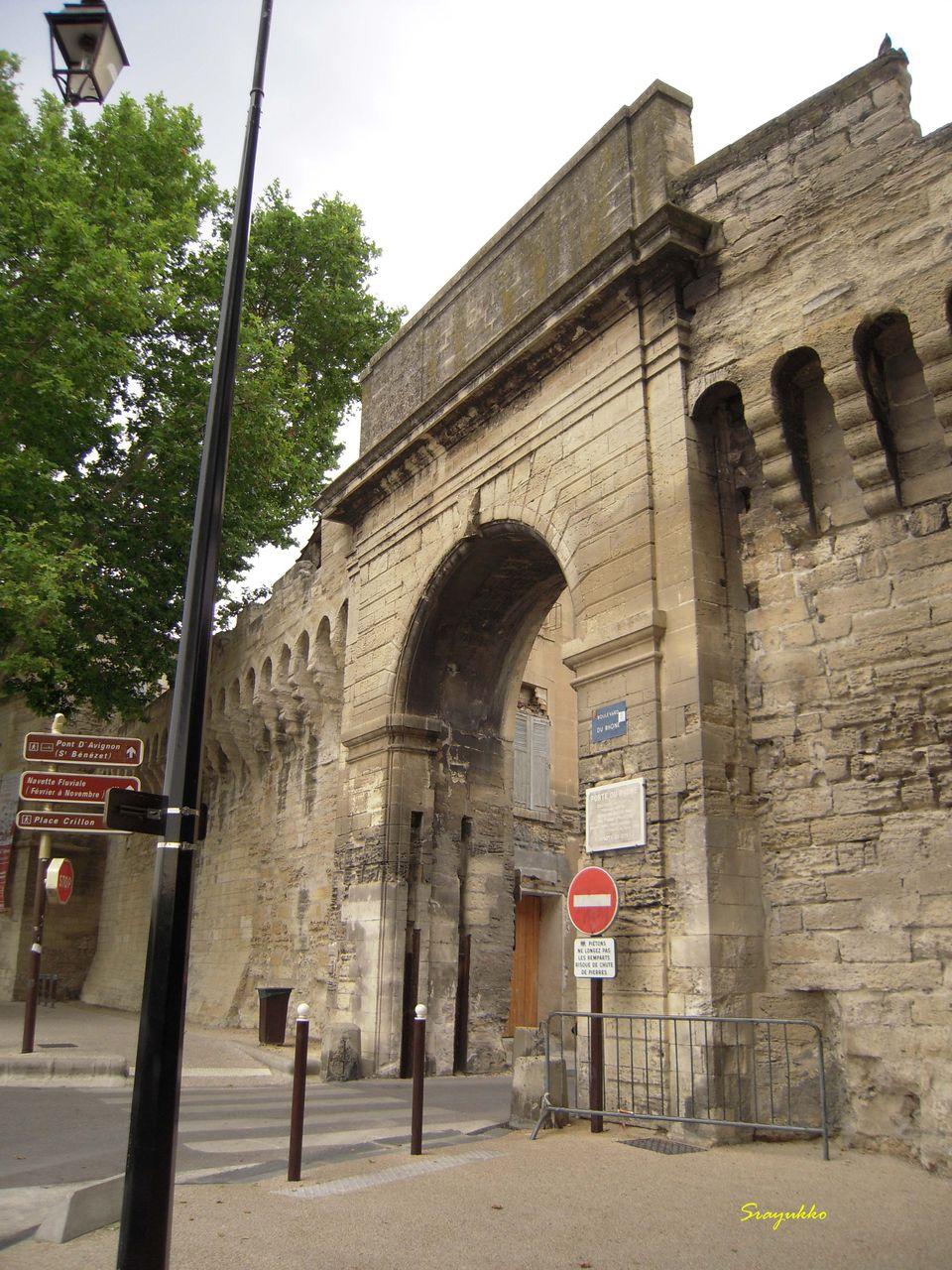 Sometimes what i think pont st benezet avignon livedoor blog - Porte saint dominique avignon ...