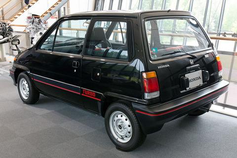 Honda_City_Turbo_rear-left_2015_Honda_Collection_Hall