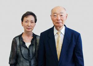 田中宣男、房枝さん夫妻