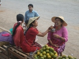 ミャンマーの笑顔