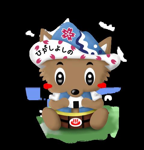 東吉野村マスコットキャラクター「ひよしちゃん」1
