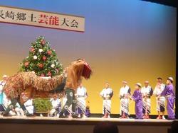 鍬踊獅子舞02-3