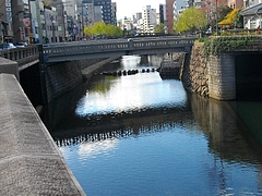 中島川・魚市橋01
