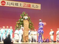 鍬踊獅子舞03-3
