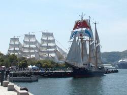 長崎帆船まつり02