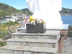 神の島教会マリア像03