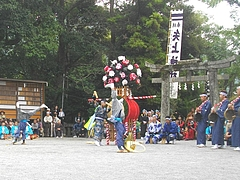 中尾獅子浮立06-4