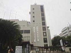 長崎県庁「シェ・デジマ」で「カキフライ」(^^;