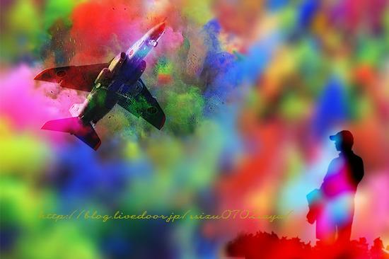 20200429虹彩ぼかし飛行機