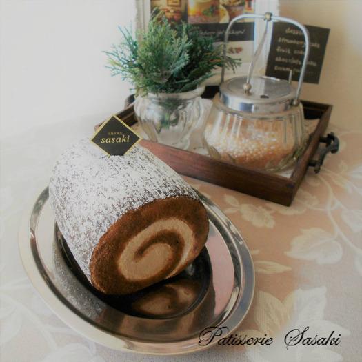 チョコロールケーキ スクイーズ