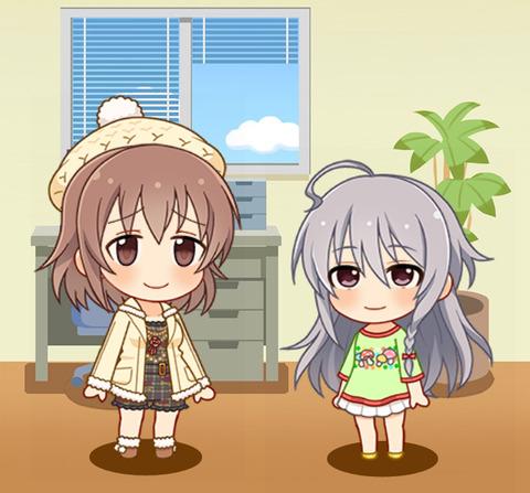 喜多日菜子「輝子さんはキノコが大好きなんですねぇ♪」 星輝子「う、うん」