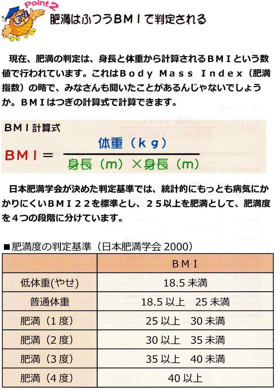 bmi 基準 値