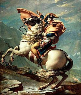 270px-David_-_Napoleon_crossing_the_Alps_-_Malmaison1