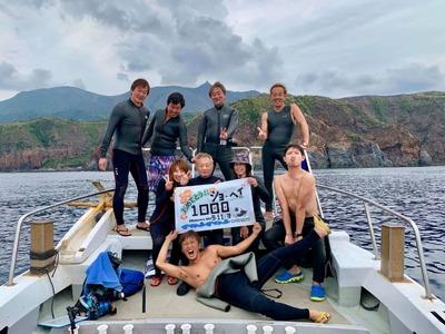 1000本記念ダイビング鹿児島トカラ列島20191103R