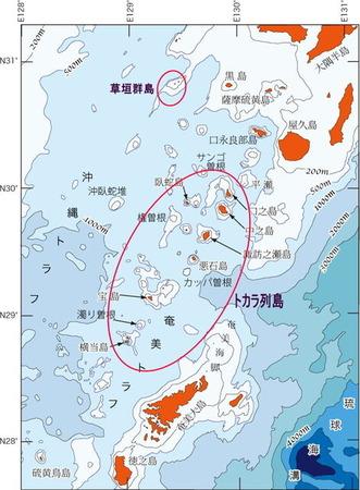 トカラ列島Map0011