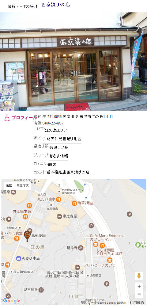 西京漬の店