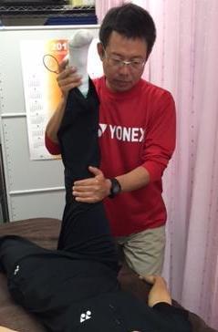 高野さん(ストレッチ画像)