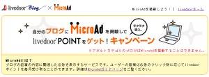 MicroAdキャンペーン