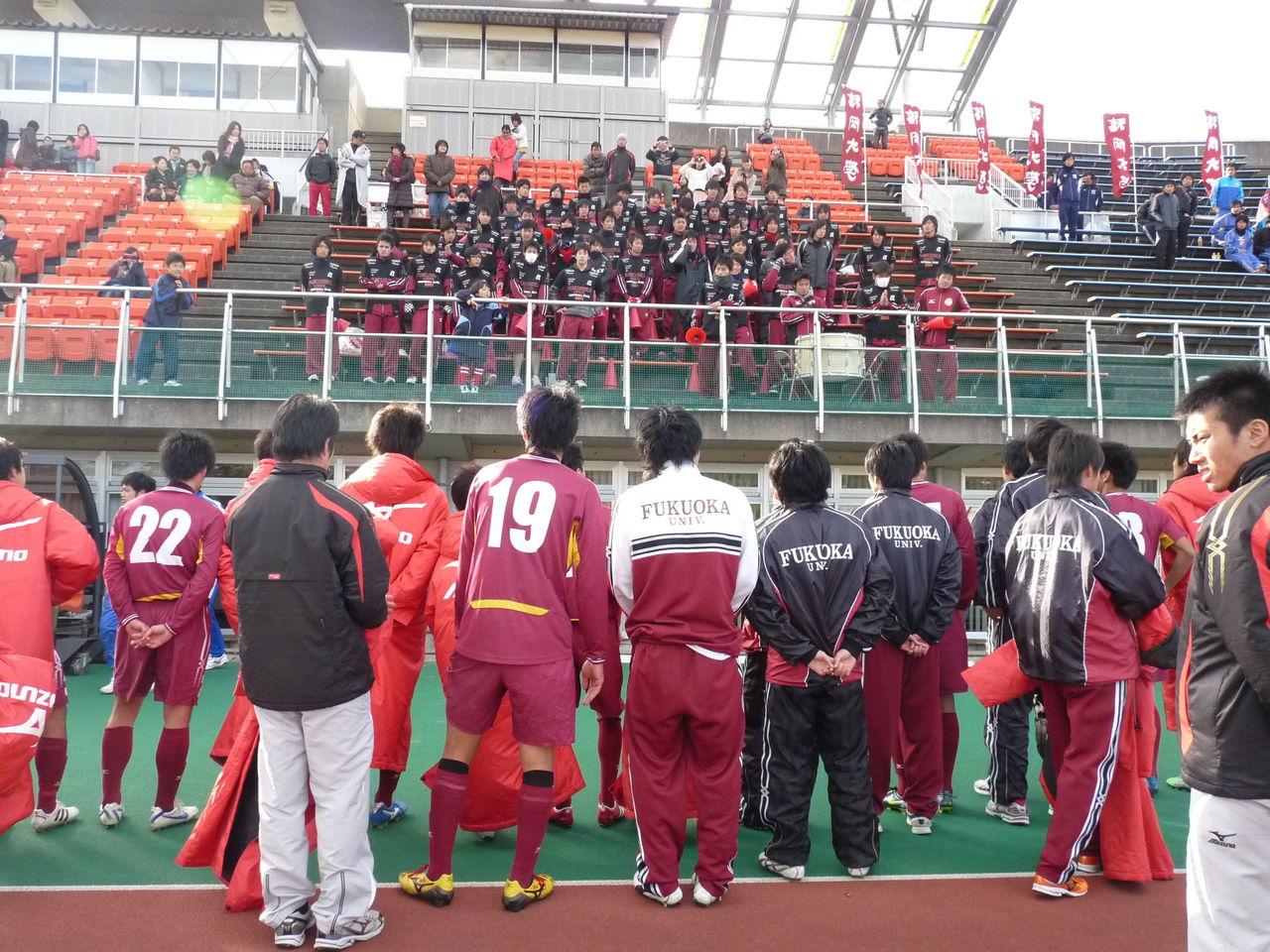 福岡大学サッカー部 スタッフ部屋                スタッフ