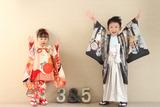3歳女の子&5歳男の子のお祝い♡   富士南店