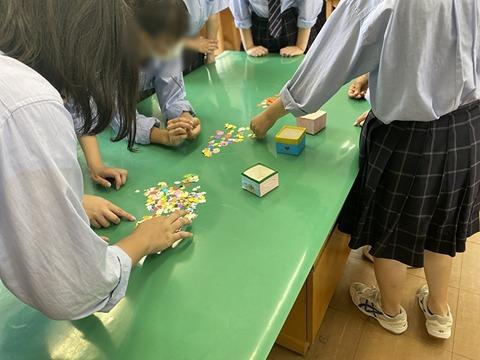 9月流山南高校「手作りおもちゃ」