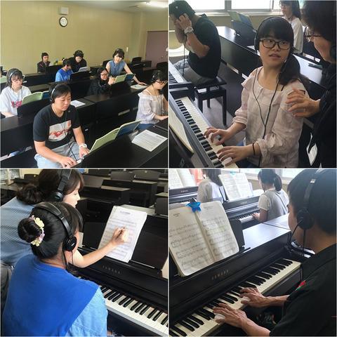 こ福在学生ピアノ補講①