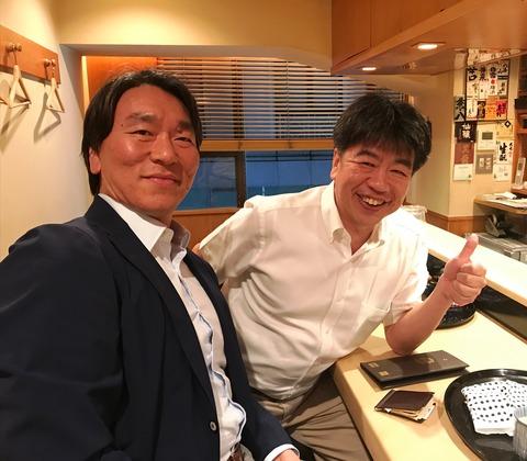 2019年松井さんと広岡校長