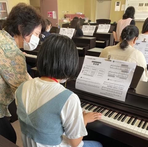 ピアノ個人指導
