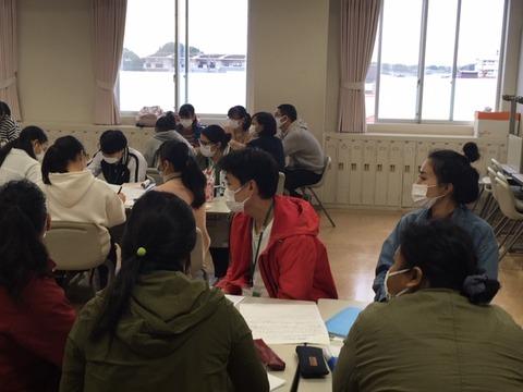 留学生クラス授業参観⑤