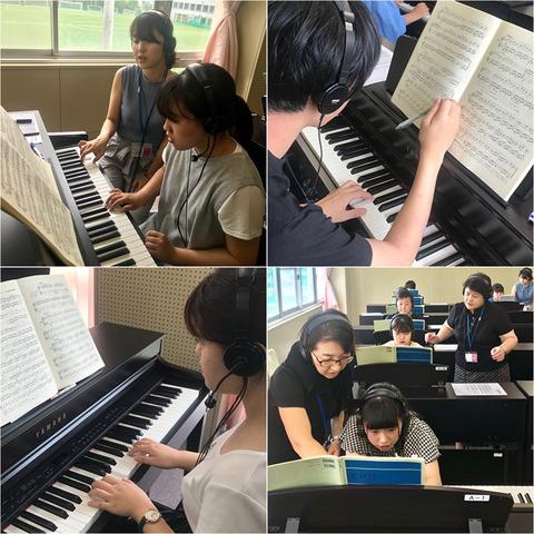 こ福在学生ピアノ補講②