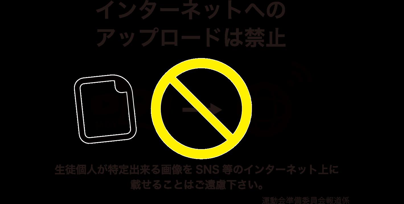 掲示-アップロード禁止