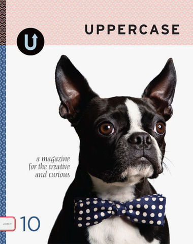 UPPERCASE #10 POLKA DOT