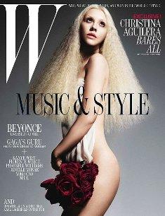 W July 2011 Gaga