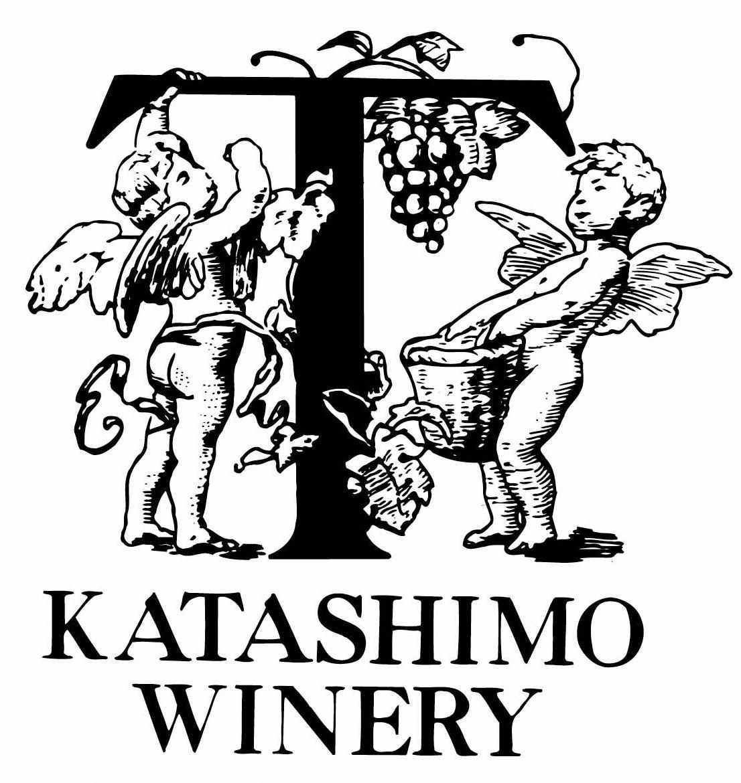 ロゴ(天使とKATASHIMO WINERY)