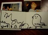 梅佳代さんサイン本 001