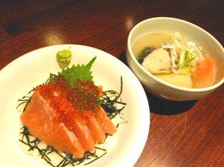 鮭とイクラの親子丼&チェプオハウ 026