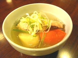 鮭とイクラの親子丼&チェプオハウ 011