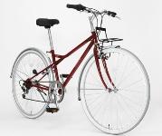 クロスバイク赤2