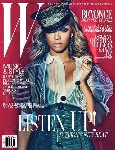 W July 2011 Beyonce