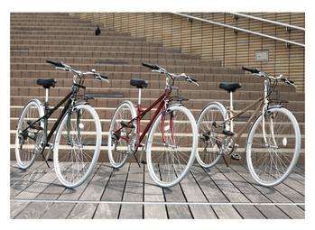 クロスバイク3台