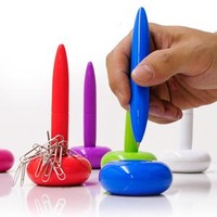 Magnetic Floating Ball Pen1